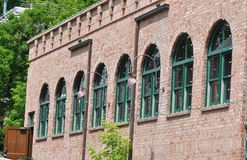 Arched Windows On Historic Building Stock Image