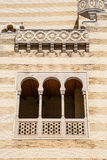 Arched Windows on Moroccon Wall Stock Images