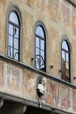 Arched windows Stock Photo