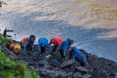 Archeologi volontari Fotografie Stock Libere da Diritti