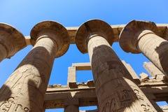 Archeologia Karnak świątynia - Egipt Obrazy Stock