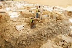 Archeologia urbana Immagini Stock Libere da Diritti