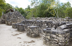 archeologic ζώνη του Μεξικού koba Στοκ Εικόνες