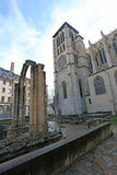 Archeologic καταστροφές Jardine, Λυών Στοκ Φωτογραφίες
