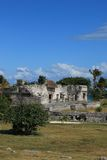 Archeologic site of Chichen Itza Royalty Free Stock Images