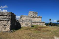 Archeologic site of Chichen Itza Royalty Free Stock Image
