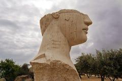 archeological άγαλμα περιοχής του Agrigento Στοκ Εικόνες