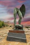 archeological άγαλμα περιοχής του Agrigento Στοκ Φωτογραφίες