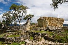 archeological εξαιρετική περιοχή του Περού kuelap Στοκ Εικόνα