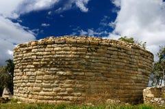 archeological εξαιρετική περιοχή του Περού kuelap Στοκ Φωτογραφία