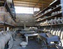 Archeological καταστροφές της Πομπηίας Στοκ φωτογραφία με δικαίωμα ελεύθερης χρήσης