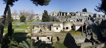 Archeological καταστροφές της Πομπηίας Στοκ Φωτογραφία