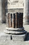 Archeological καταστροφές της Πομπηίας Στοκ Φωτογραφίες