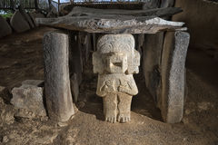 Archeological πάρκο Κολομβία SAN Agustin Στοκ εικόνες με δικαίωμα ελεύθερης χρήσης