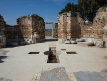 Archeological περιοχή εκκλησιών του ST John Στοκ εικόνες με δικαίωμα ελεύθερης χρήσης