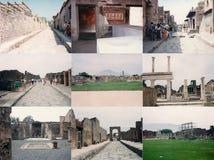 Archeological περιοχή της Πομπηίας στην Πομπηία Στοκ εικόνες με δικαίωμα ελεύθερης χρήσης