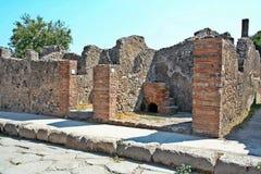 Archeological περιοχή της Πομπηίας Στοκ φωτογραφία με δικαίωμα ελεύθερης χρήσης