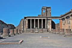 Archeological περιοχή της Πομπηίας Στοκ εικόνες με δικαίωμα ελεύθερης χρήσης