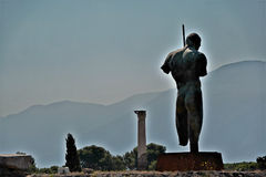 Archeological περιοχή της Πομπηίας Στοκ φωτογραφίες με δικαίωμα ελεύθερης χρήσης