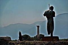 Archeological περιοχή της Πομπηίας Στοκ Εικόνες