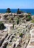 archeological περιοχή του Λιβάνου byblos Στοκ φωτογραφία με δικαίωμα ελεύθερης χρήσης