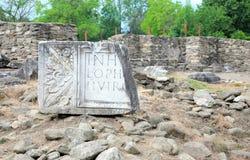 archeological περιοχή Στοκ φωτογραφίες με δικαίωμα ελεύθερης χρήσης