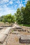 archeological περιοχή dion Στοκ εικόνες με δικαίωμα ελεύθερης χρήσης