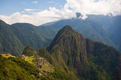 Archeological περιοχή Picchu Machu Στοκ Εικόνες