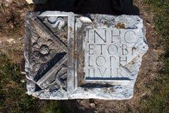 Archeological περιοχή-Sarmizegetusa Στοκ Εικόνες