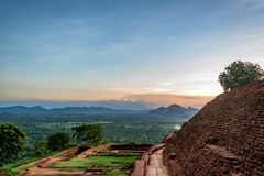 Archeological περιοχή Sigiriya Στοκ Εικόνες