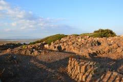 Archeological περιοχή Tharros στη Σαρδηνία, Ιταλία Στοκ εικόνα με δικαίωμα ελεύθερης χρήσης