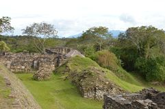 Archeological περιοχή Tonina σε Ocosingo, Chiapas Στοκ Φωτογραφίες