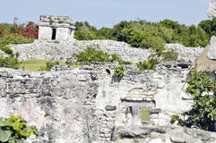 Archeological περιοχή Tulum Στοκ Φωτογραφίες
