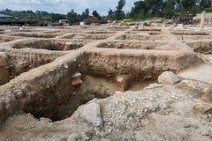 Archeological περιοχή Tzipori Στοκ εικόνα με δικαίωμα ελεύθερης χρήσης