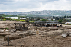 Archeological περιοχή Tzipori Στοκ Εικόνες