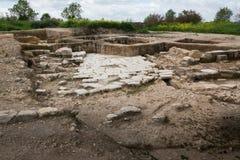 Archeological περιοχή Tzipori Στοκ Φωτογραφίες