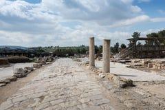 Archeological περιοχή Tzipori Στοκ φωτογραφίες με δικαίωμα ελεύθερης χρήσης