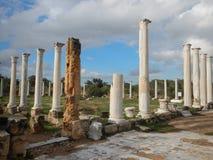 Archeological σαλάμια περιοχών αρχαίου Έλληνα Στοκ φωτογραφίες με δικαίωμα ελεύθερης χρήσης