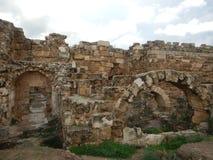 Archeological σαλάμια περιοχών αρχαίου Έλληνα Στοκ Εικόνα
