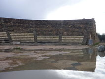 Archeological σαλάμια περιοχών αρχαίου Έλληνα Στοκ εικόνα με δικαίωμα ελεύθερης χρήσης