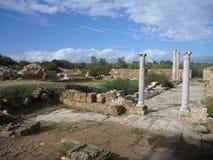 Archeological σαλάμια περιοχών αρχαίου Έλληνα Στοκ φωτογραφία με δικαίωμα ελεύθερης χρήσης