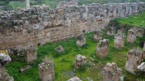 Archeological σαλάμια περιοχών αρχαίου Έλληνα Στοκ Εικόνες