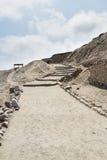 Archeological σύνθετο Pachacamac στη Λίμα Στοκ Εικόνες