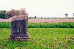 Archeological area of Aquileia Stock Images