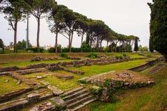Archeological area of Aquileia Stock Photography