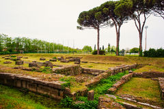 Archeological area of Aquileia Royalty Free Stock Images