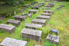 Archeological burial ground, Lipari, Italy Royalty Free Stock Photo