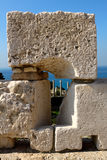archeological bybloslebanon lokal Arkivfoto