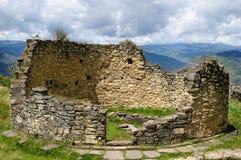 archeological chachapoyas kuelap κοντά στην περιοχή του Περού Στοκ Εικόνες