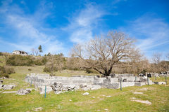 archeological dodonilokal Royaltyfria Foton